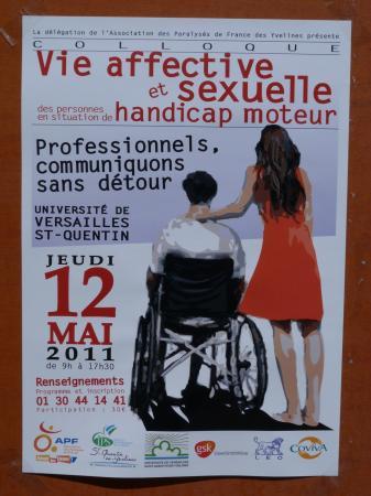 """Colloque """"Vie affective et sexuelle"""" le 12 mai 2011"""