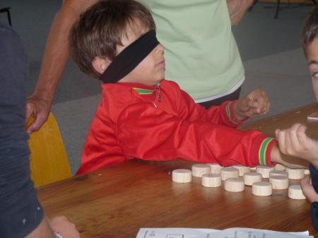 Sensibilisation  aux handicaps à La Norville le 12 juin 2010